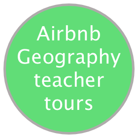 Airbnb Geography teacher tours