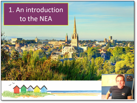 Session 1: Introducing the NEA